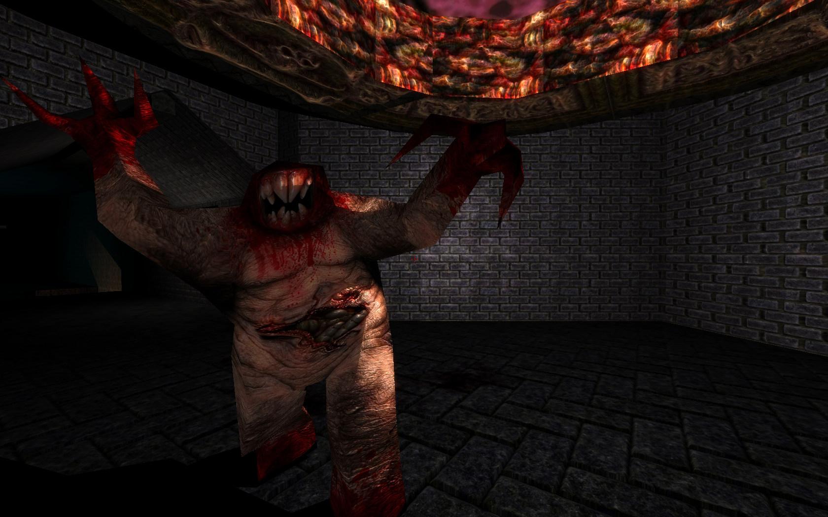 Quake Reforged - Bestiary - The Shambler Quake Shambler
