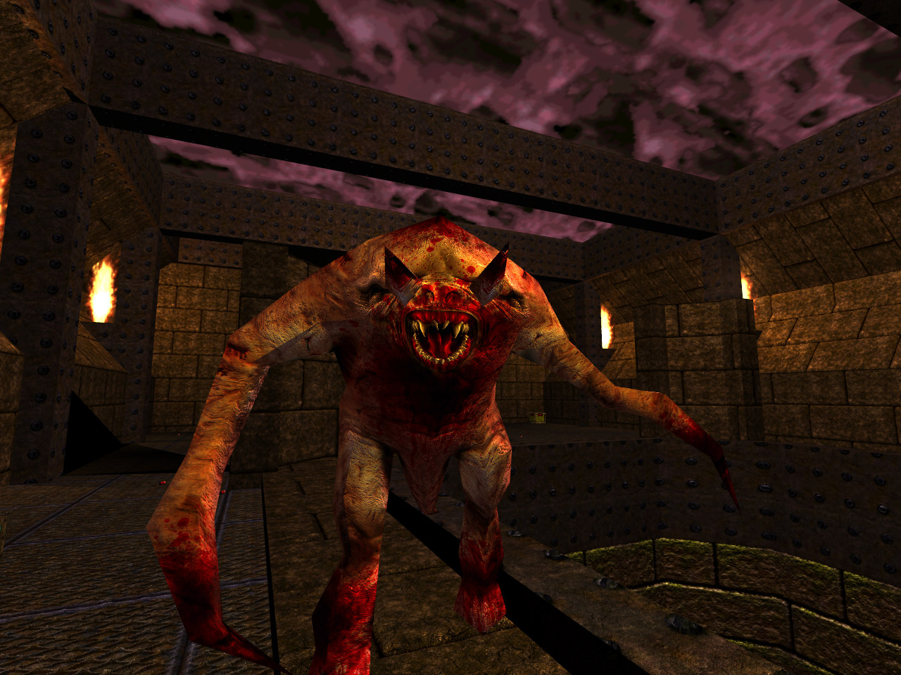 Quake Reforged - Bestiary - Quake - The Fiend Quake Fiend