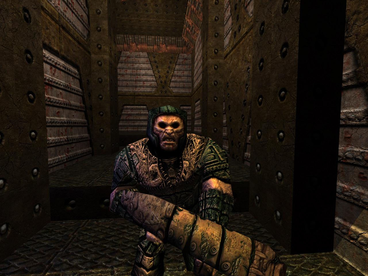 Quake Reforged - Bestiary - Quake - The Grunt