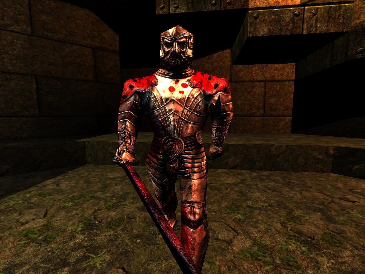 Quake Reforged - Bestiary - Quake - The Knight