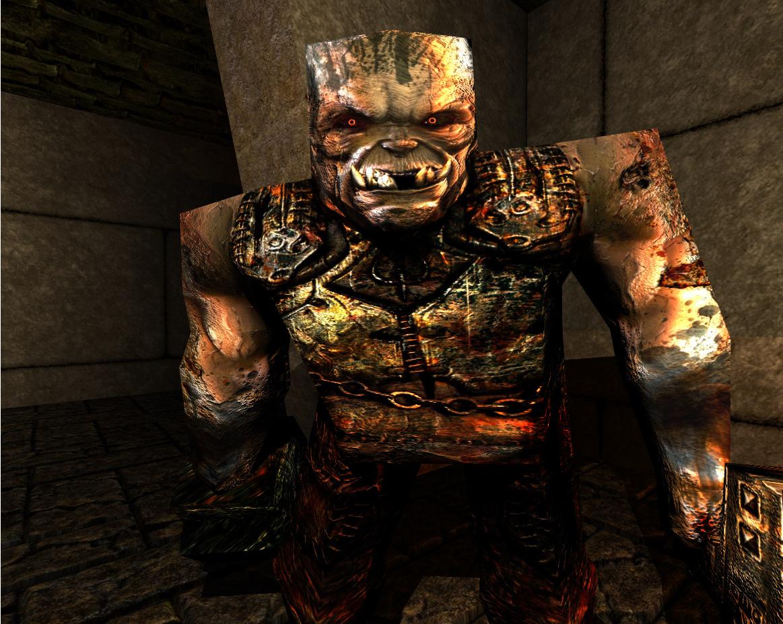 Quake Reforged - Bestiary - Quake - The Ogre
