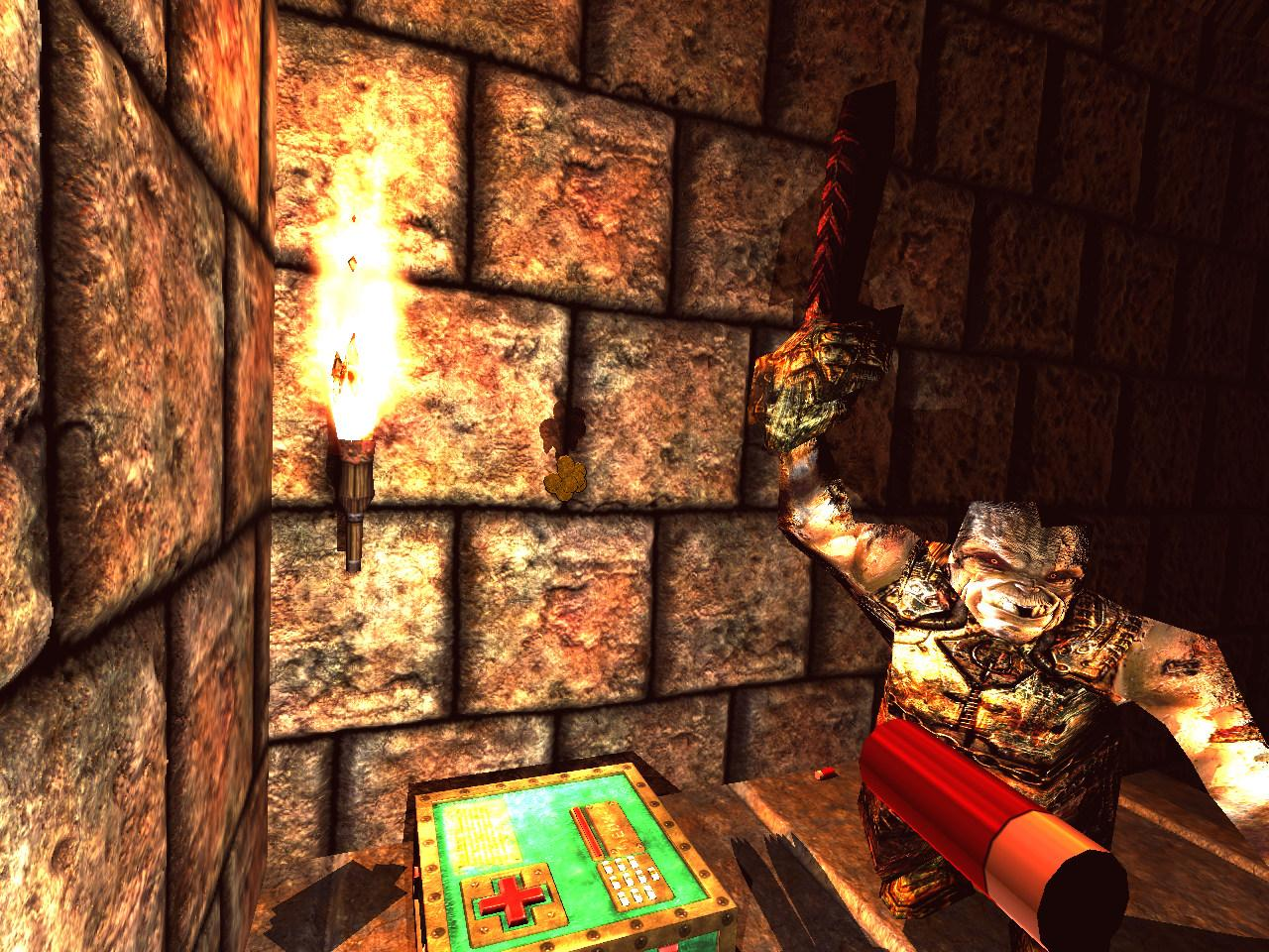 Quake Reforged - Bestiary - Quake - The Ogre Quake 1 Monsters