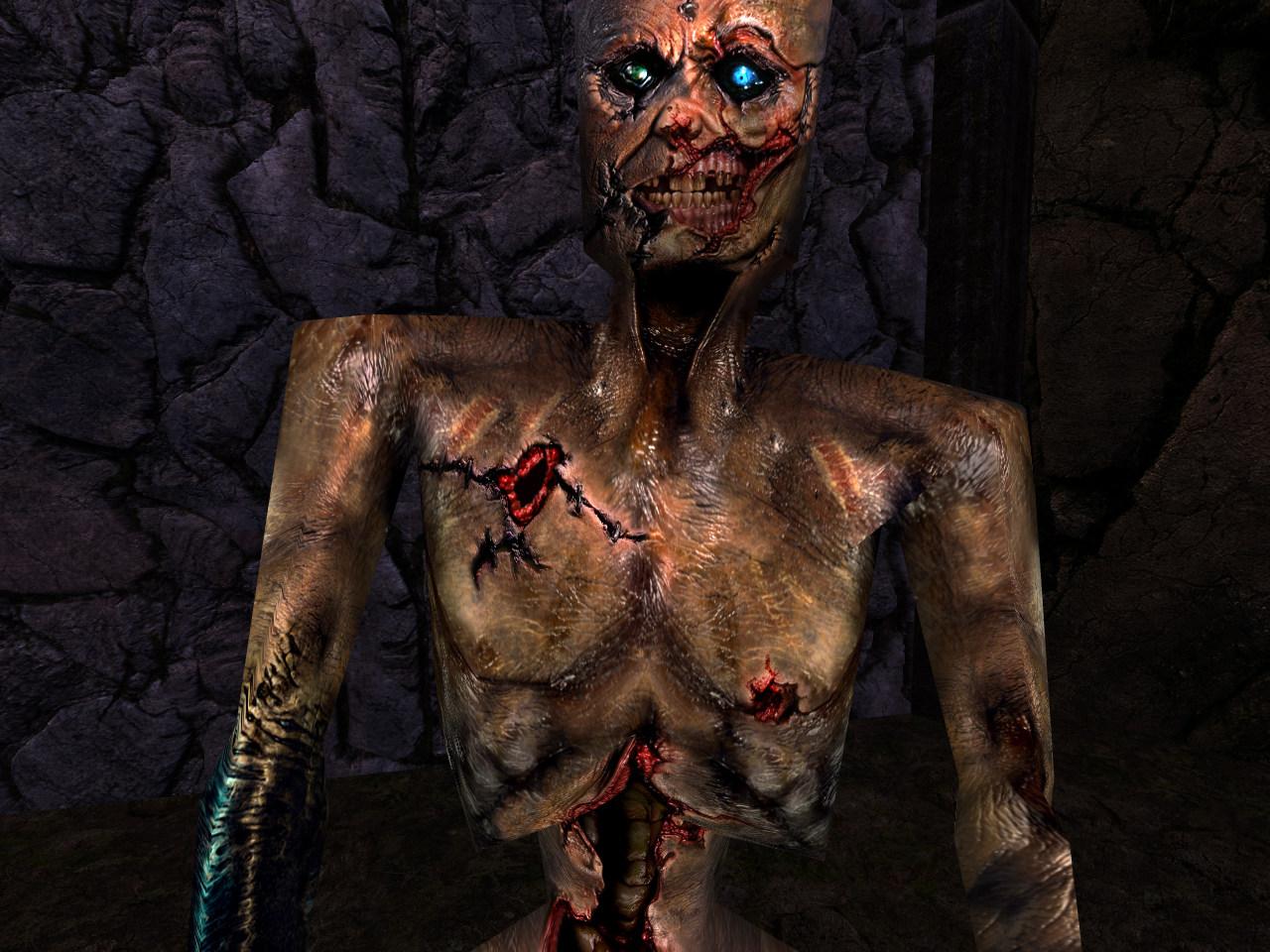 Quake Reforged - Bestiary - Quake - The Zombie Quake Vore